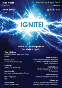 IGNITE A5 Flyer