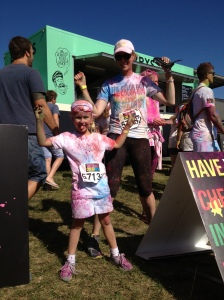 Is the #ColorRun hazardous to your health?
